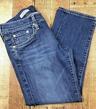 Adriano Goldschmied Tomboy Crop Relaxed Fit Mid Rise Jeans Sz 27   29x24