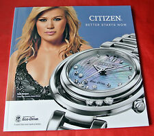 Kelly Clarkson Citizen Canada Watch 2014 Catalog Import Magazine NEW