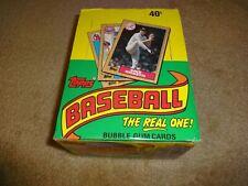 1987 Topps Baseball Wax Box 36 Sealed Packs