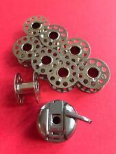12 Spulen aus Metall und Klarsicht für Necchi Nähmaschinen 559