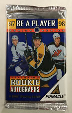 1997-98 Pinnacle Be A Player Hockey Series B Unopened Sealed Pack Bourque Auto?