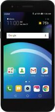 Cricket Wireless - LG Risio 3 with 16GB Memory Prepaid Cell Phone - Blue
