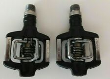 Crank Brothers Candy C Clipless Pedals egg beater  Black RARE Mountain Bike Used