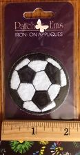 Patch Ems Soccer Ball Iron On Patch NEW AP4821-12 Hirschberg Schutz