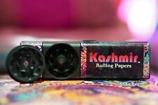 Kashmir Combo Tobacco Herbal Grinder- All-in-one mini-grinder, papers and tips