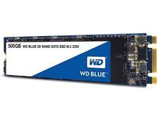 SSD WD 3D NAND SATA Blue Memoria interna M.2 500 GB