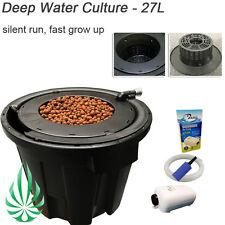 Hydroponics Pro Pot 27L Kit Deep Water Culture Fast Grow Pot System Auto Feed