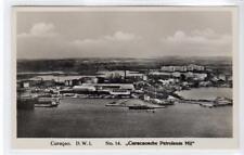 """CURACAOSCHE PETROLUEM MIJ"" CURACAO: Dutch West Indies postcard (C33662)"