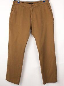 Scotch & Soda Hommes Stuart Extensible Pantalon Chino Taille W36 L32 BBZ123
