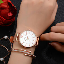 Women's Casual Bracelet Watch Quartz Mesh Belt Band Fashion Analog Wrist Watches