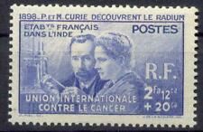 INDE 1938 Yvert 115 * CURIE TADELLOS 11€(F0661