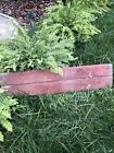Antique Barn Wood In Old Red