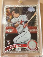 2011 Topps Update Mike Trout Diamond Anniversary Sp Rc Psa Bgs Ready! 10? Rare
