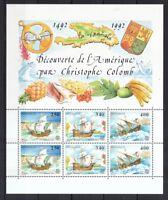 Monaco 1992 postfrisch MiNr. Block 55  Europa CEPT  Entdeckung von Amerika
