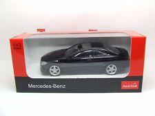 MERCEDES BENZ CL 63 AMG in Nero 1:43 SCALA Nuovo di zecca con scatola Rastar grande dettaglio
