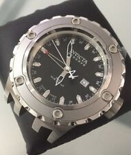 Mens Enormous Invicta Reserve GMT 6182 Swiss Working Spares Repair Needs Strap