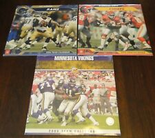 Sport Calendars Team - 2005-2006 - 3 Teams - Rams Chiefs Vikings Football Sealed