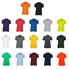 3 Or 5 Pack Gildan Ladies Dry Blend Double Pique Polo Shirt Short Sleeves Sports