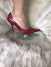 Tony Bianco dark red leather stilettos. Size 7. Brand new.