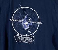 Vineyard Vines Mens Midline Hockey Pocket Blue L/S T-Shirt Sz XXL- NEW