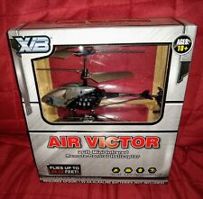 XB Air Victor 2CH Mini Infrared Remote Control Helicopter Gray NEW Five Below