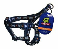 "Top Paw Dog Harness for MEDIUM M Dogs w/ Girth 18""-25"" Dog Bone Stars 41M NEW"