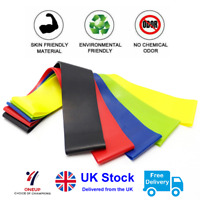 Resistance Bands Set or Singles - Home Gym Workout Exercise Glutes Yoga Pilates