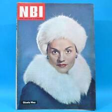 NBI 11/1962 DDR Gisela May Flax Krümel Struppi Winterbahn Ekuador Frankreich B