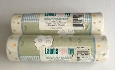 NEW Lambs & Ivy COUNTRY FARM Wall Paper Border NIP