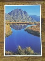DAVE NEWBOULD WELSH PICTURE POSTCARD P10 TRYFAN AND LLYN Y CASEG-FRAITH