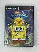 SpongeBob's Atlantis SquarePantis - Playstation 2 PS2 Game - Complete & Tested