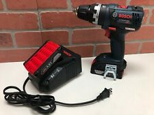 Bosch 18V Li-Ion EC Brushless Hammer Drill Combo Kit 2.0Ah Batteries & Charger