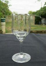 verres à eau en cristal  de baccarat modèle capri signé H 16,7 cm