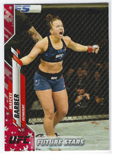 MAYCEE BARBER 2020 TOPPS UFC INDEPENDENCE DAY PARALLEL /76