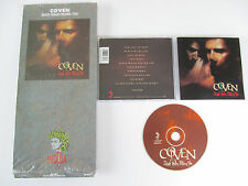 COVEN Death Walks Behind You CD 1989 MEGA RARE THRASH ORG 1st PRESS in LONGBOX!!