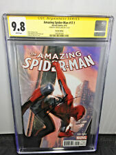 CGC SS 9.8 AMAZING SPIDER-MAN #17.1 DELL'OTTO VARIANT SIGNED BY TOM HOLLAND
