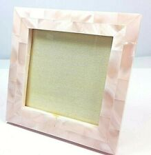 Picture Frame Light Pink Sea Shell Photo Frame 3''x3''