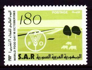 Syrien Syria 1983 ** Mi.1578 Welternährungstag World Food Day Feld Field Emblem