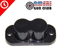 Magnet Concealed Pistol Gun Holder Mount for desk bed / under table 25lb Rating