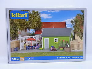 Lot 21886 Kibri Ho 38658 Garden Shed for the Allotment Kit New Boxed