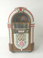 Vintage Leadworks Wurlitzer Fifties Micro Cassette Jukebox Japan *UNTESTED* 11""