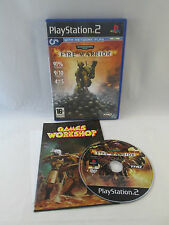 Sony Playstation 2 PS2 - Warhammer 40,000 Fire Warrior