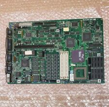 Vintage Packard Bell 486SX-20 motherboard, attacked by a gold digger. Wall Art?