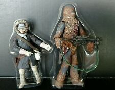 Star Wars Legacy Hoth Recon Han Solo & Chewbacca MINT New Display Collection
