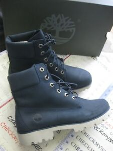 """NEW WOMEN'S Timberland tb0a1s84 Women's Leather Shoes Heritage Lite 6"""" CHSE SIZE"""