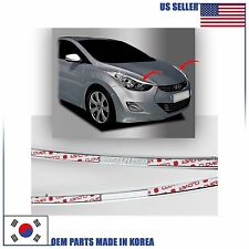 CHROME HEAD LAMP MOLDING TRIM (B699) HYUNDAI ELANTRA SEDAN 2011-2016