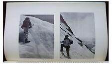 1934 Daszynski  ANDES  Cordillera de la Ramada  FIRST ASCENT  -9
