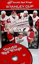 NHL Stanley Cup Champions 2007-2008 DVD New!,Detroit Red Wings, Lidstrom,Hockey