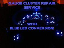 REPAIR 2003-06 GM GMC Sierra Yukon Speedometer Instrument Cluster Gauge BLUE LED