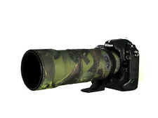 Nikon 300mm f4 AFS neoprene lens protection camouflage coat cover Woodland Green
